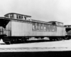 Wooden passenger cars with two cupolas