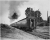 the end of a passenger train