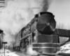 a streamlined locomotive