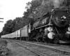 a steam passenger train
