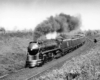 a streamline passenger train