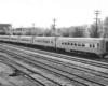 Six streamlined passenger coaches