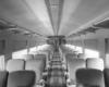 Interior of passenger coach