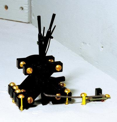 Hump Yard Purveyance's interlocking levers