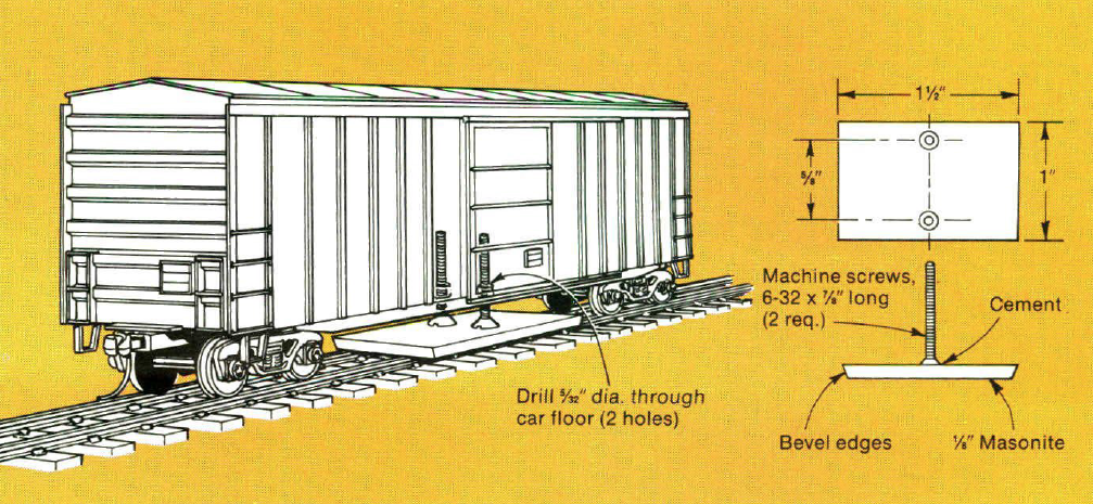 track cleaning car diagram