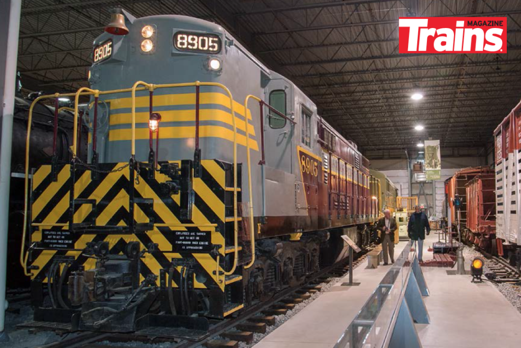 Canadian Pacific Train Master No. 8905 at ExpoRail in Montreal, Quebec.