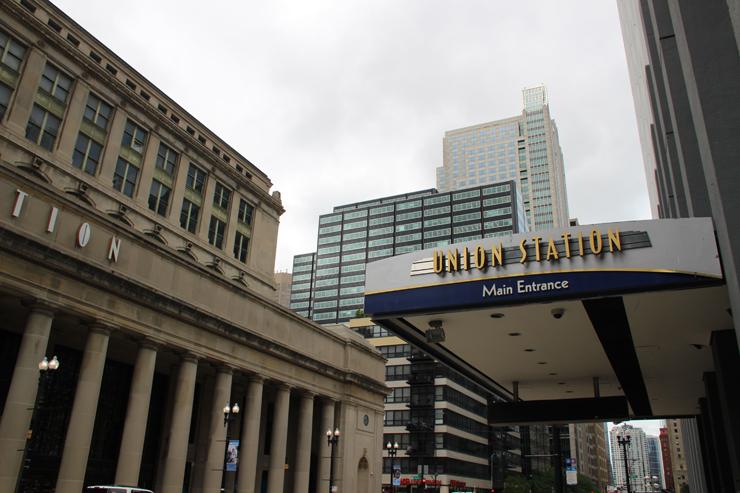 Chicago Union Station exterior