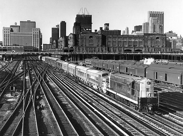 Amtrak Chicago-Los Angeles Super Chief June 1971