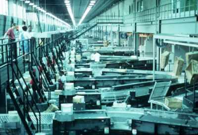 UPS CACH facility