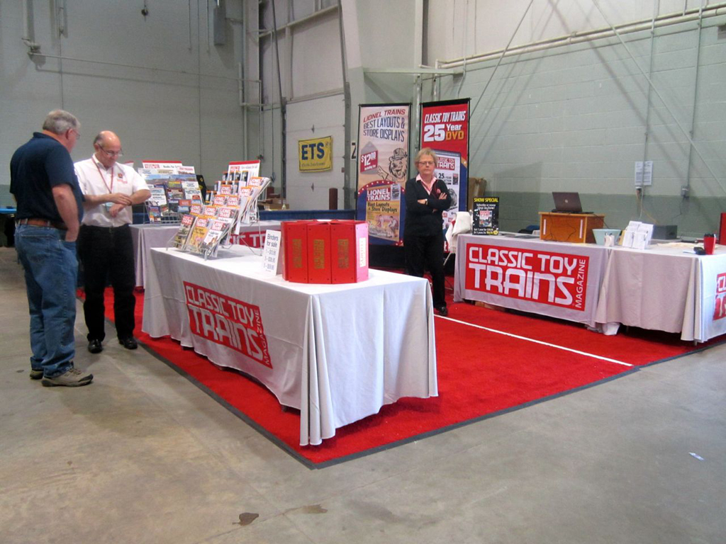 The Fall 2015 Eastern Division, Train Collectors Association meet took place in York, Pa., Oct. 22-24. Classic Toy Trains was there selling the latest products from Kalmbach Publishing Co.