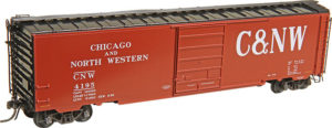 Kadee Quality Products Co. HO scale Pullman-Standard 50-foot PS-1 boxcar