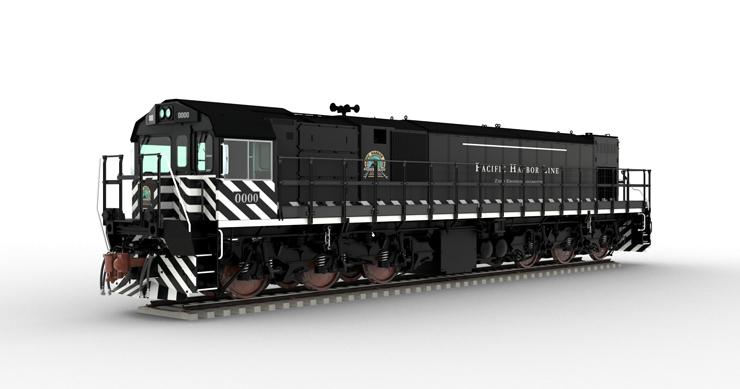 Progress Rail's EMD Joule battery-electric locomotive