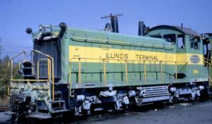 Illinois Terminal SW1200 No. 784