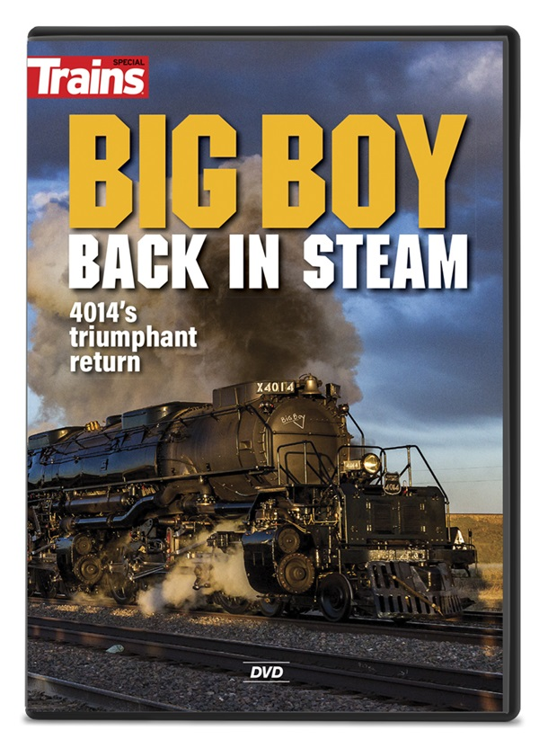 The DVD cover showing Big Boy