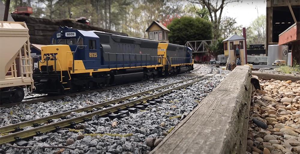 1:29 scale L.P. & C.L. Railroad