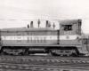 End-cab diesel switching locomotive