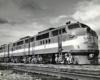 Four-unit road diesel locomotive