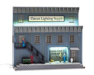 Patriot Lighting Supply Background Building