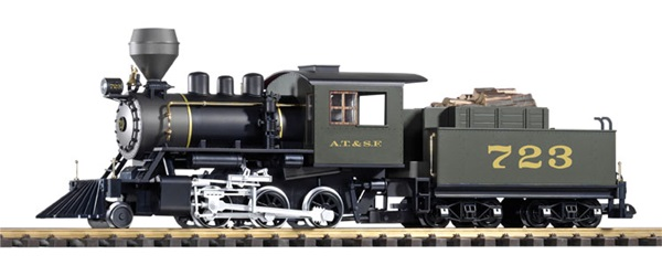 Stem locomotive pulling coal