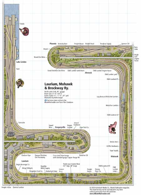 Download this track plan from the November 2020 issue of Model Railroader