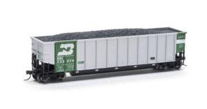 Atlas Model Railroad Co. HO scale modern aluminum coal gondola