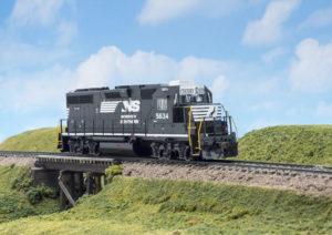 Atlas Model Railroad Co. HO scale Electro-Motive Division GP38 diesel locomotive