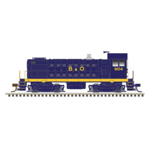 Atlas Model Railroad Co. N scale Alco S-4 diesel locomotive