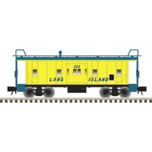 Caboose with windows