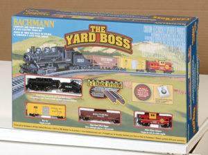 Bachmann N scale Yard Boss train set
