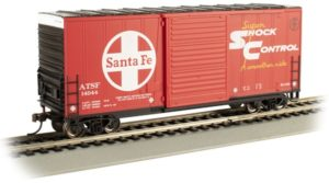 Red boxcar