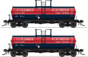Two tank cars