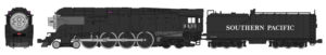 Kato USA N scale Southern Pacific class GS-4 4-8-4