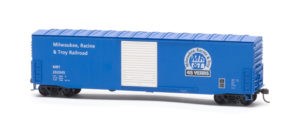 Milwaukee, Racine & Troy 45th anniversary HO scale boxcar kit