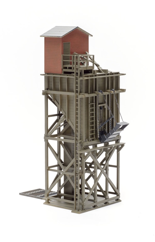 Walthers HO scale wood coaling tower