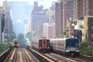 A train yard