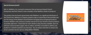 An announcement from Chooch