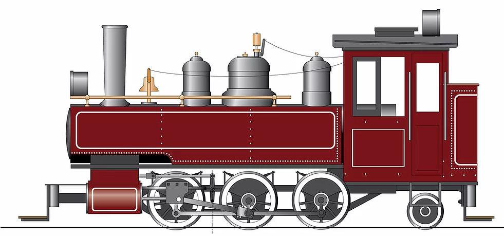 Accucraft 1:20.3 Baldwin 0-6-0T live steam locomotive