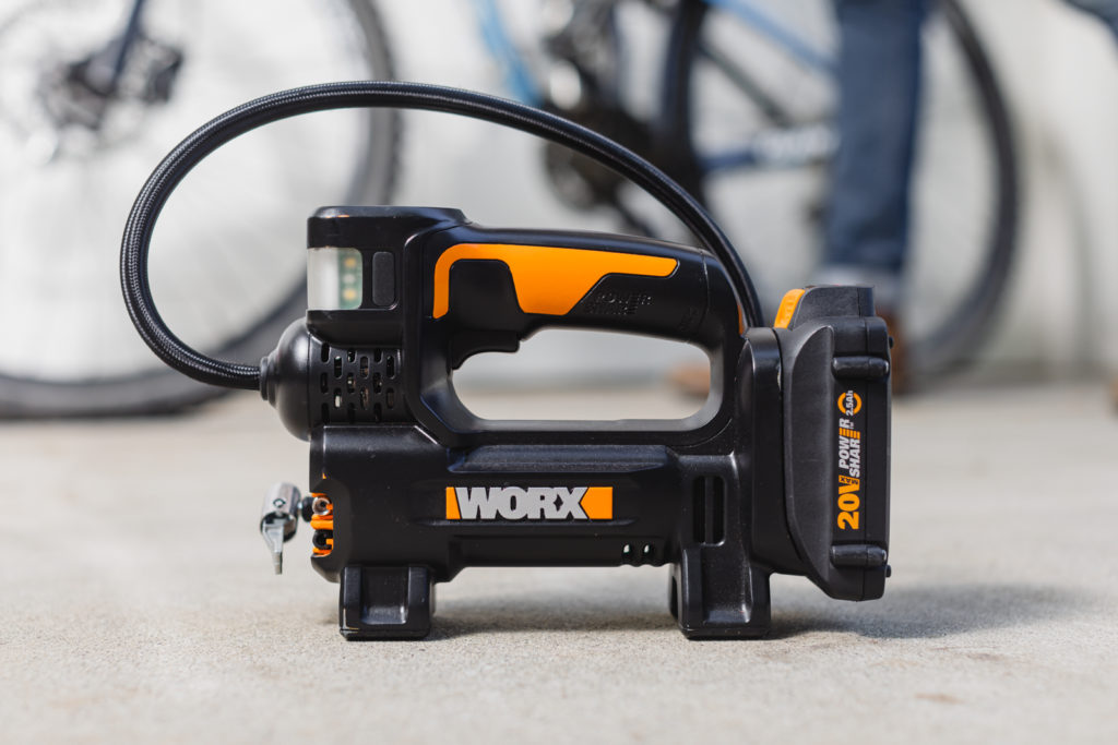 Worx 20V Power Share portable inflator