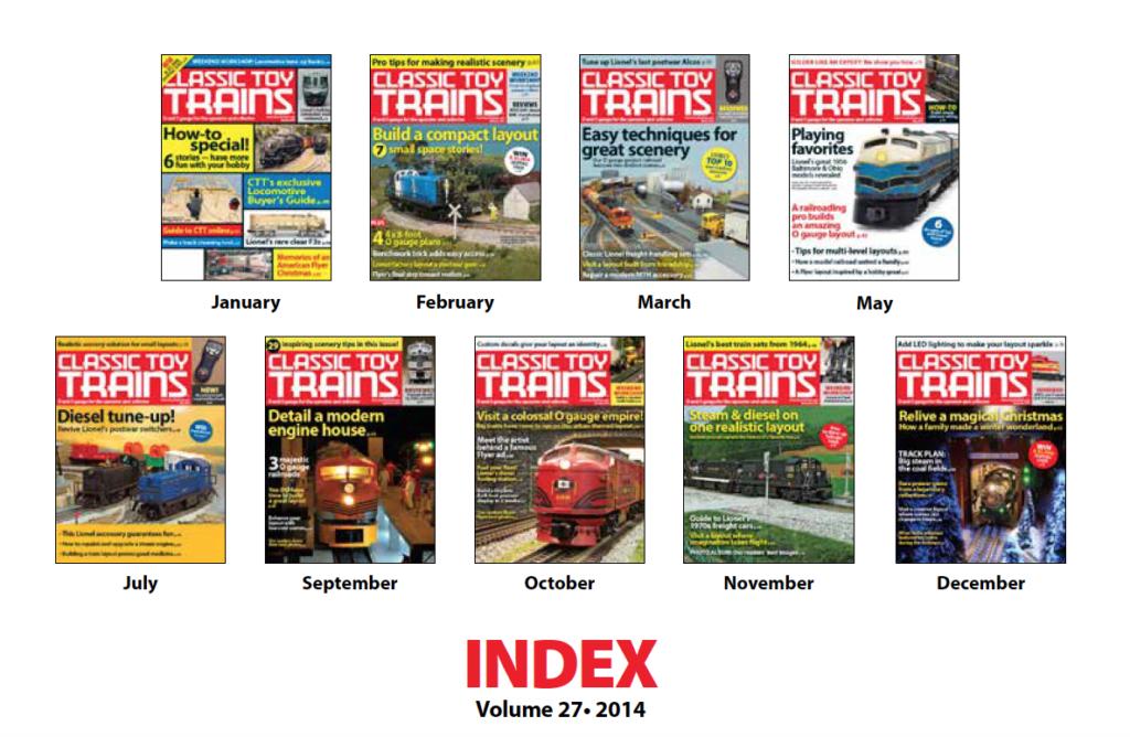 CTT annual index 2014 screenshot