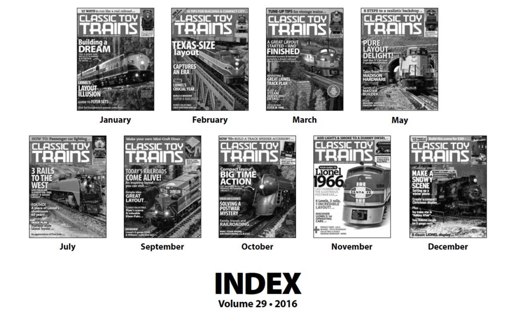 CTT annual index 2016 screenshot