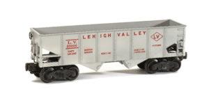 Lionel no. 6456-25 Lehigh Valley hopper car.