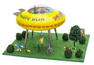The M&M UFO Scene from Menards