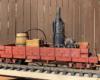 John Cushmans's steam donkey model
