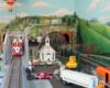 Small Town USA garden railroad