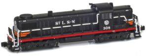 Alco RS-3 train