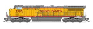 Union Pacific General Electric AC6000CW diesel locomotive