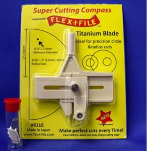 Flex-I-File super cutting compass available from the Kalmbach Hobby Store