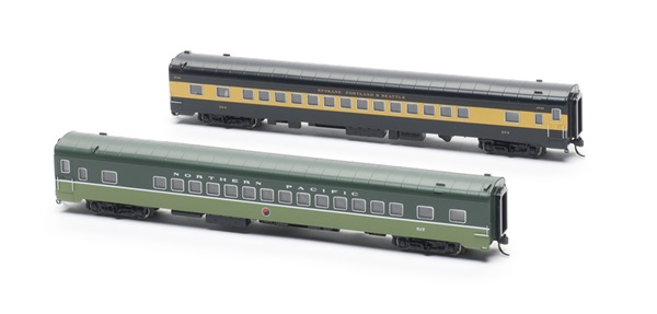 Two passenger cars