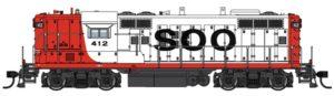 Soo Line Electro-Motive Division GP9