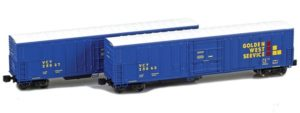 Two boxcars